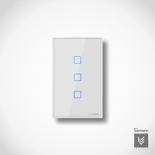 Sonoff T2 US 3 Gang Smart Wall Touch Light Switch