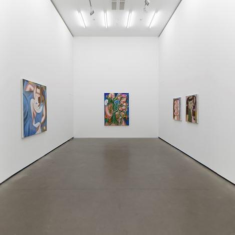 Kristina Schuldt - solo exhibition at Galerie EIGEN + ART Berlin