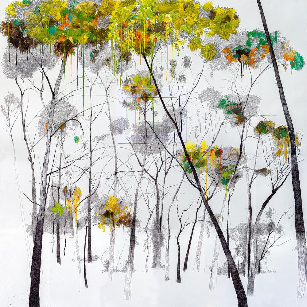 Los árboles lloran dorado, 2020 - Tatiana Blanqué