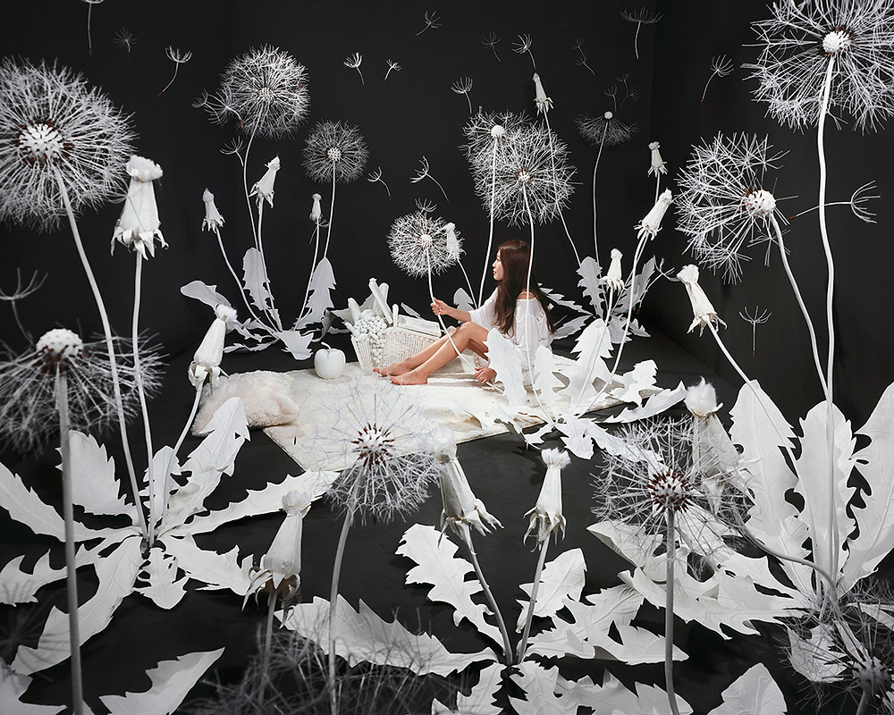 Breeze, Inkjet print, 2016 by JeeYoung Lee