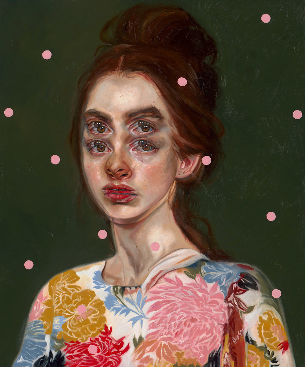 Alex Garant - Until Dusk, oil on canvas