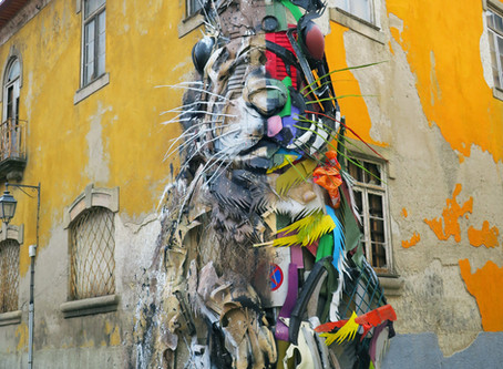 In conversation with the artist Bordalo II