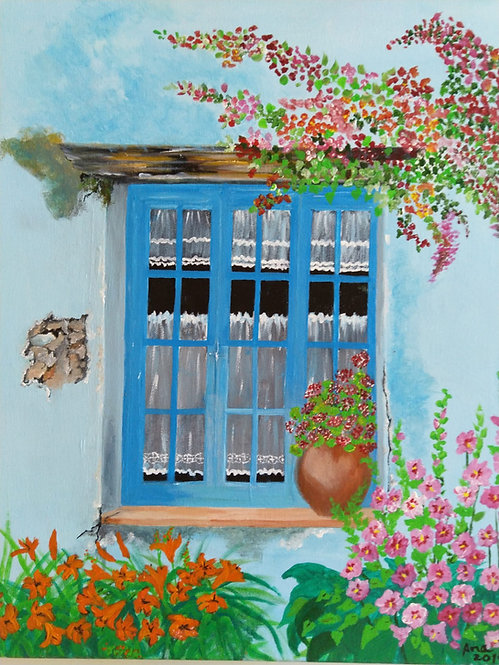 Old window by Ana Paula Simoes