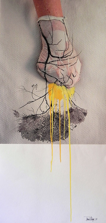 Listen to what you see, the world upside down by Tatiana Blanqué