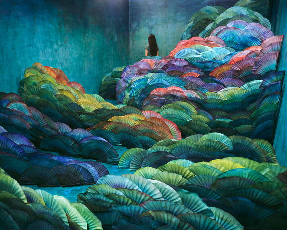 Nightscape, Inkjet print, 2012 by JeeYoung Lee