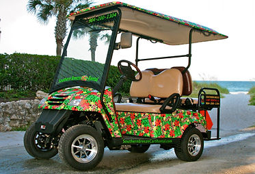 The Hibiscus, 4 seater cart