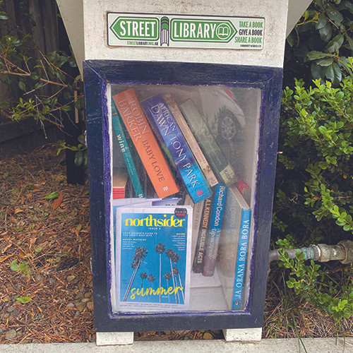 street libraries, lower north shore, neutral bay, phillip street