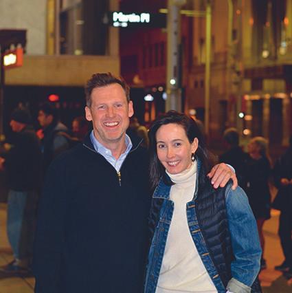 Chris Vagg, Olga Puga, Martin Place, Sydney, homelessness