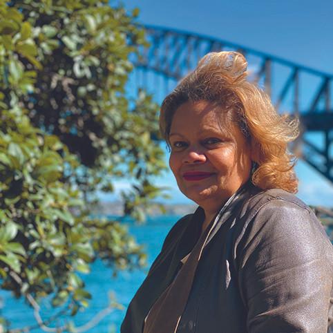 Bibi Barba, Aboriginal artist, Kirribilli