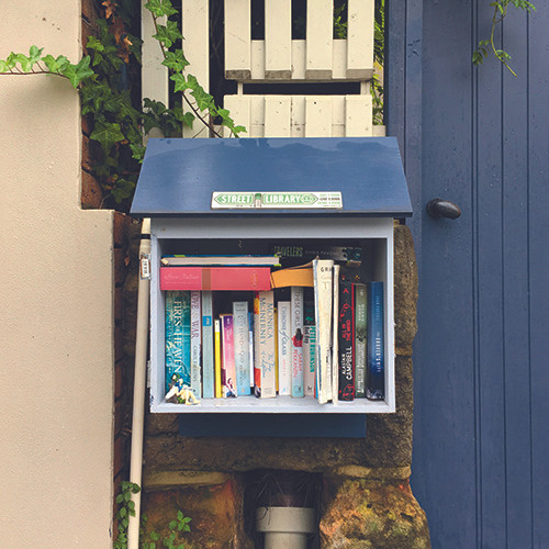 street library, lower north shore, waverton, Euroka Street, North Sydney