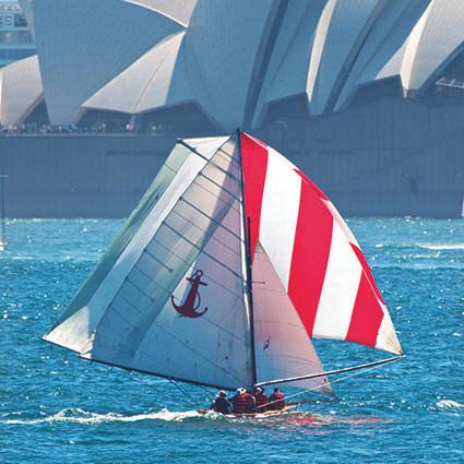 Sydney Flying Squadron, Kirribilli, Sydney Harbour, skiff racing