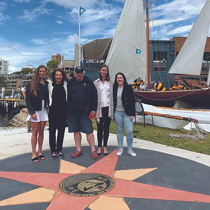 Ian Kiernan, Pip Kiernan, Jilly Gibson, Sydney Flying Squadron, Billy Loader