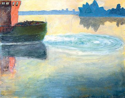 artist, peter kingston, lavender bay, luna park, sydney harbour