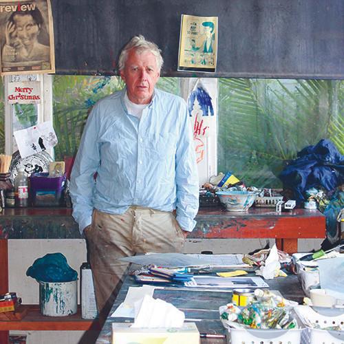 Peter Kingston, Lavender Bay, artist, Sydney