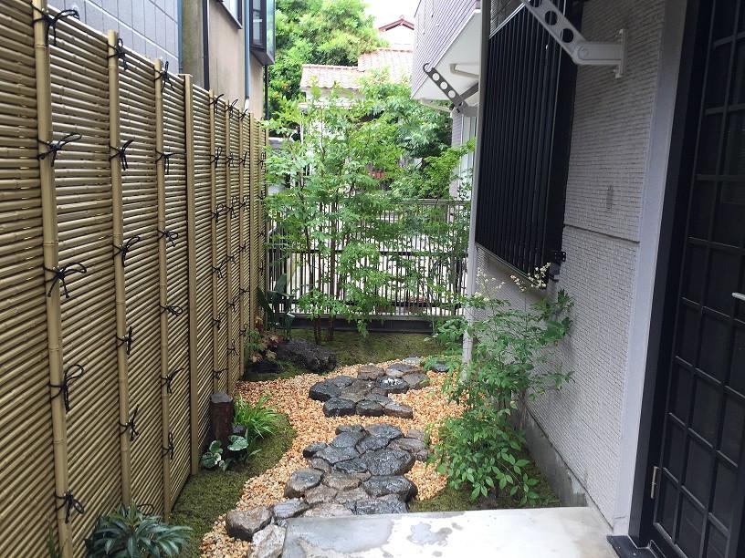 坪庭(苔と延べ段)1