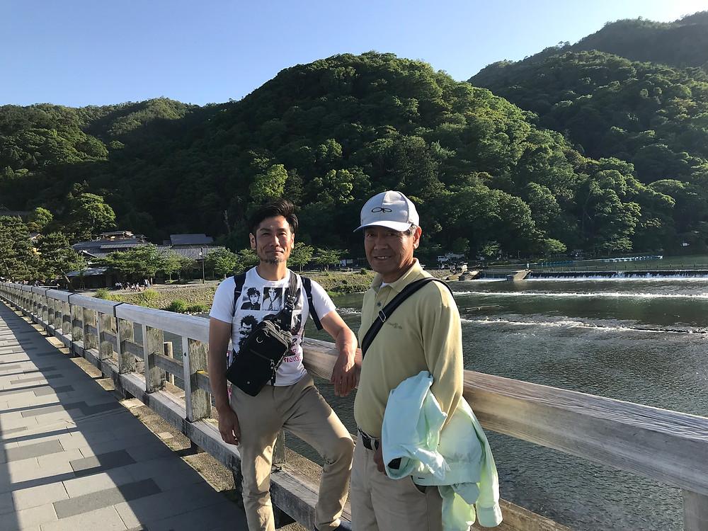 京都 渡月橋2