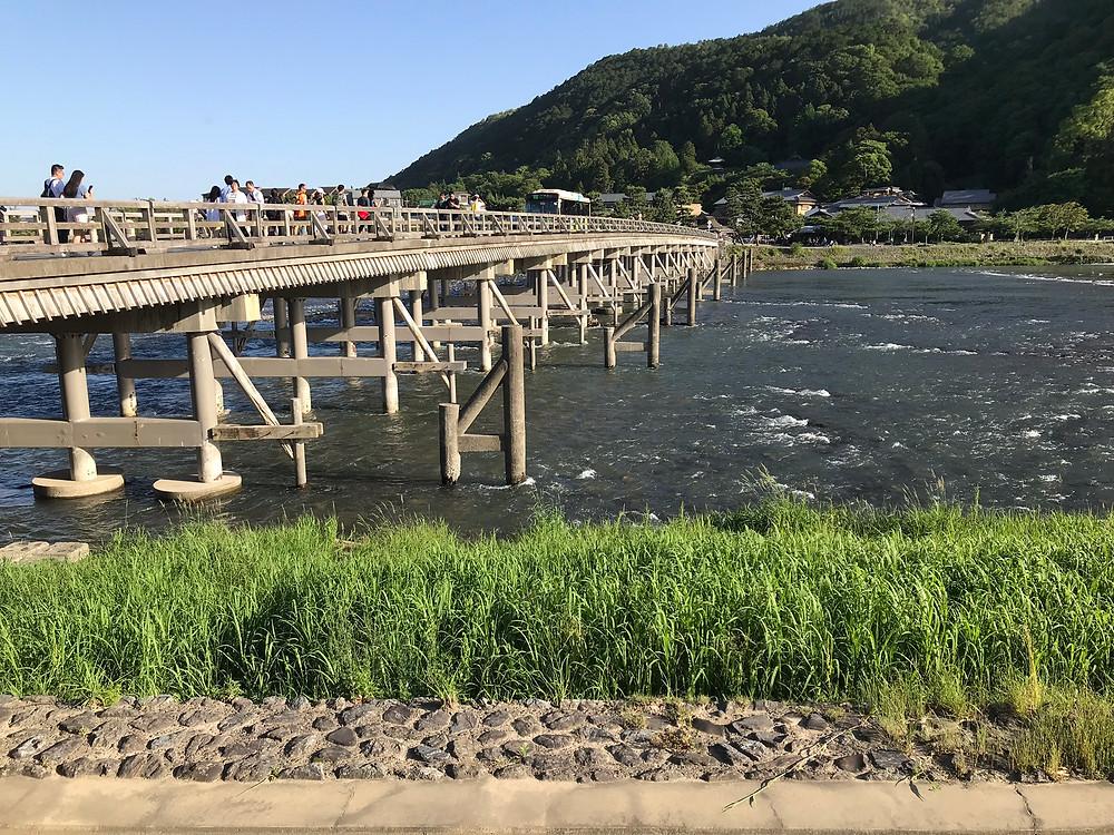 京都 渡月橋1