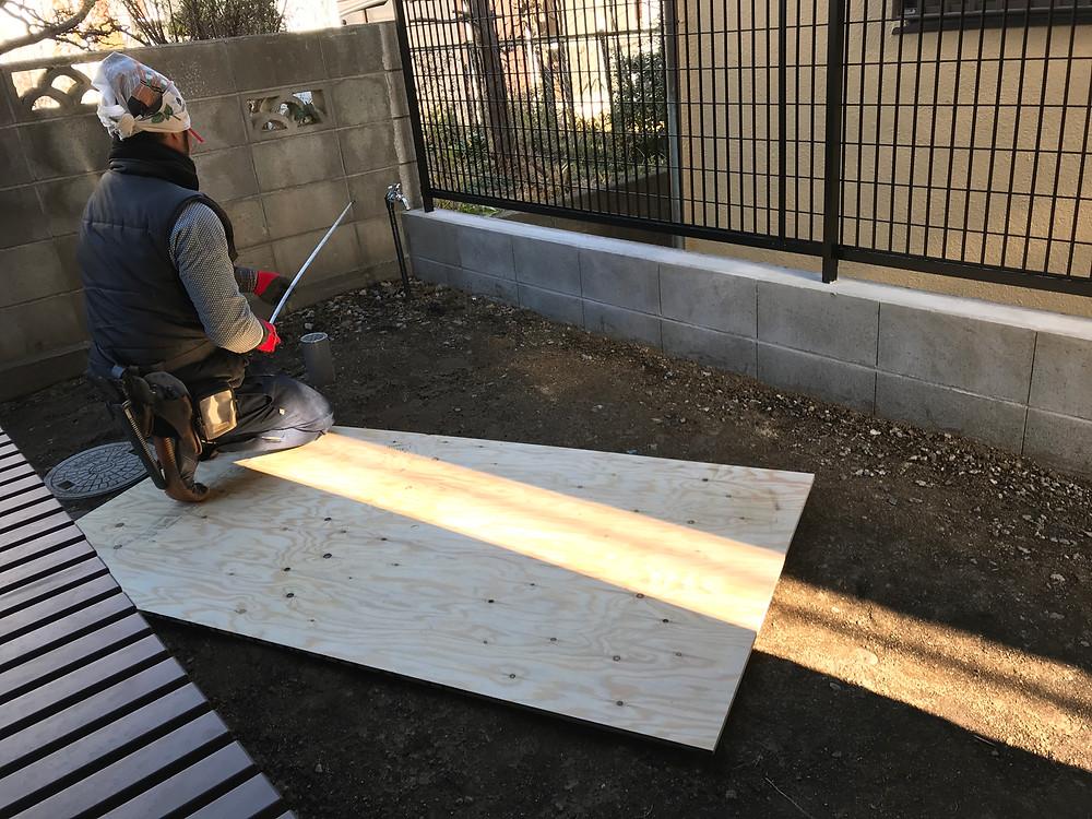 庭造り4 施工前