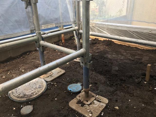 庭造り2 施工前