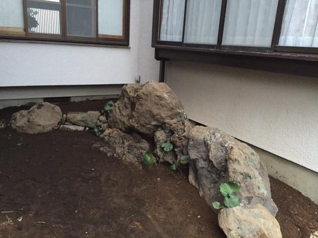 石組 石積