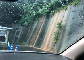 大雨被害。