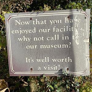 Visitors to Kiltartan Gregory Museum