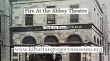 Fire At the Abbey Theatre, July 1951