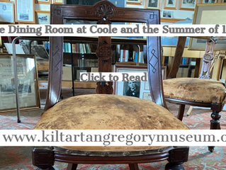 The Dining Room at Coole and the Summer of 1900