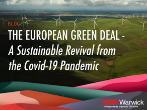 The European Green Deal — A Sustainable Revival from the Covid-19 Pandemic
