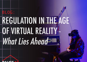 Regulation in the Age of Virtual Reality — What Lies Ahead