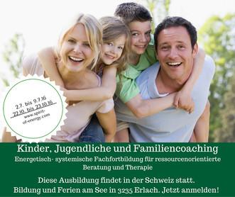 Kinder, Jugendliche und Familien Coaching Seminar