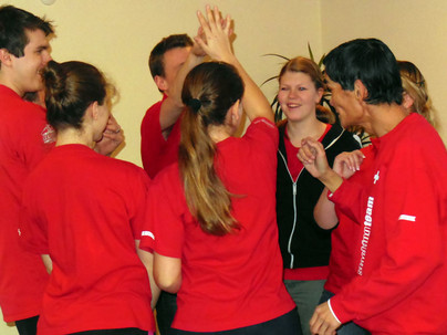Speed Stacking Team, gönnte sich ein Coaching für die Weltmeisterschaft