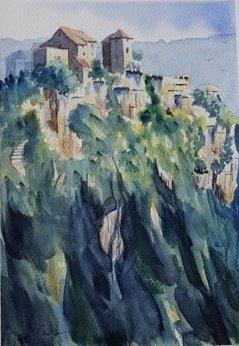 peinture à Calvignac