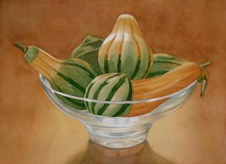Striped Gourds