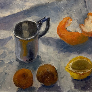 Still Life With Drying Fruit