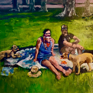 Warm Day at the Navy Yard (SOLD)