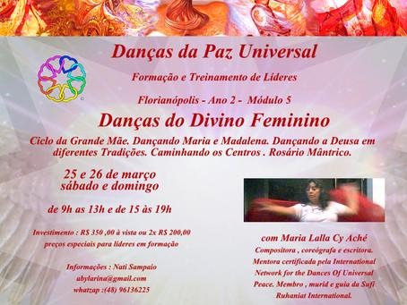 Formação em Danças da Paz Universal - Florianópolis - Ano 2 - Módulo 5