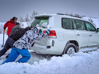 Остановка на выживание: как не замерзнуть в заглохшей машине