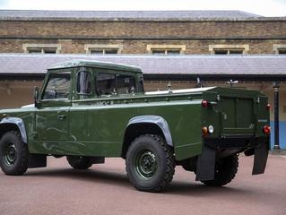 Land Rover Defender прощается с принцем Филиппом
