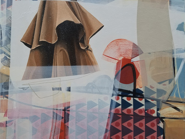 Untitled (deck umbrella)