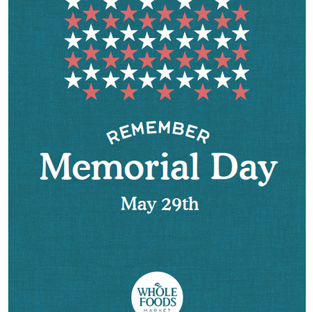 Memorial Day In-store Signage