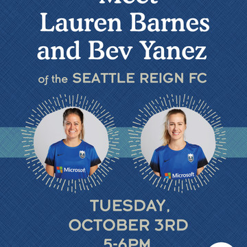 Seattle Reigh In-Store Event Poster