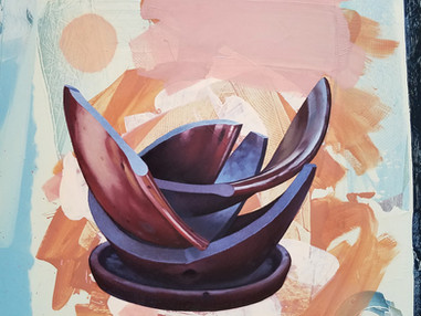 Untitled (shattered pot)