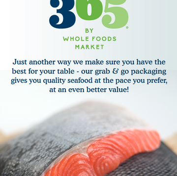 365® Vacuum Packed Seafood Poster