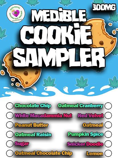 Canna Cookie Sampler