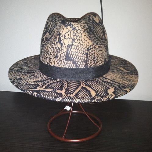 Classic Snake Skin Fedora