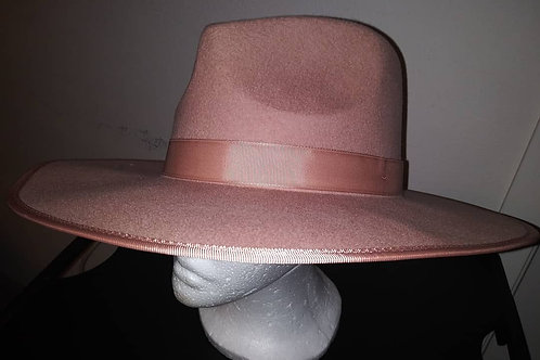 Over Sized Wool Fedora