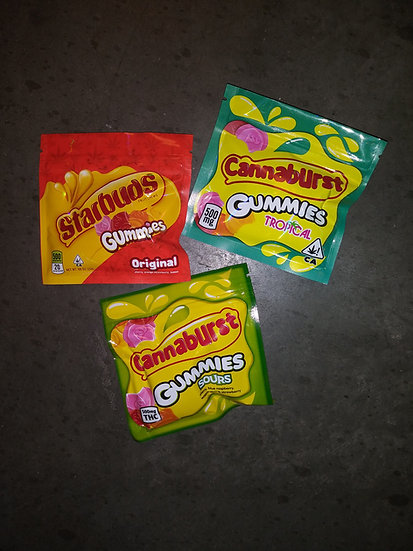Canna Burst Sour Gummies