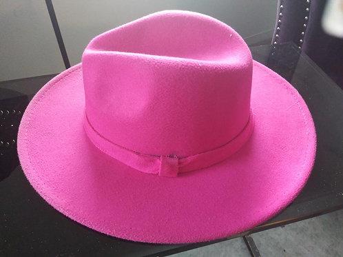 Hot Pink Fedora