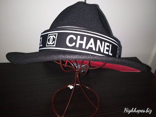 Black Red Bottom w/ Black and White Chanel Band